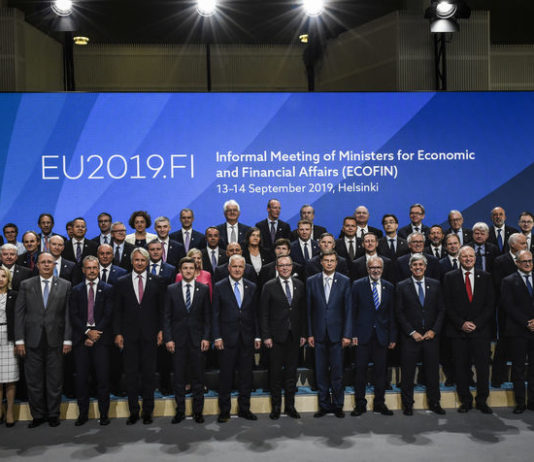 © Reuters. Informal meeting of ministers of the Economic and Financial Affairs Council (ECOFIN) and Eurogroup