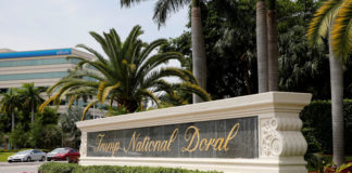 © Reuters. The Trump National Doral golf resort is shown in Doral